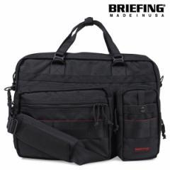 ブリーフィング BRIEFING バッグ ブリーフケース ビジネスバッグ メンズ B4 OVER TRIP ブラック BRF117219 4/12 新入荷