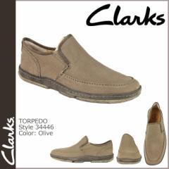 クラークス オリジナルズ Clarks ORIGINALS スリッポン シューズ TORPEDO 34446 メンズ