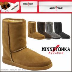 ミネトンカ MINNETONKA ショート シープスキン パグ ブーツ ムートンブーツ SHORT SHEEPSKIN PUG BOOTS レディース