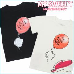 マイ スウィーティー MY SWEETY キッズ 半袖Tシャツ Mickeys balloon Tee Color コットン ベビー服 子供服