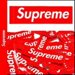 シュプリーム Supreme ボックス ロゴ ステッカー 光沢タイプ レッド BOX LOGO シール STICKER メンズ