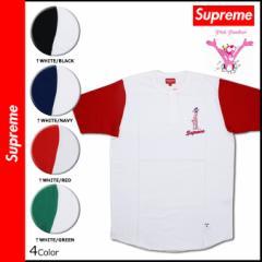 シュプリーム Supreme PINK PANTHER 半袖 ヘンリーネック Tシャツ TEE HENLYNECK SHIRT ティーシャツ メンズ