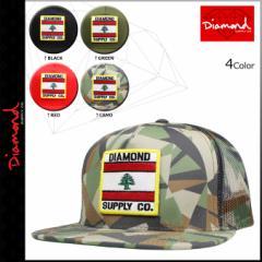 ダイヤモンド サプライ Diamond Supply Co スナップバック キャップ メッシュ MY COUNTRY MESH HAT メンズ