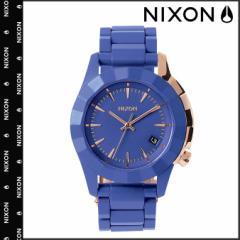 ニクソン NIXON 腕時計 38mm ウォッチ 時計 A288 コバルト ローズゴールド MONARCH メンズ レディース