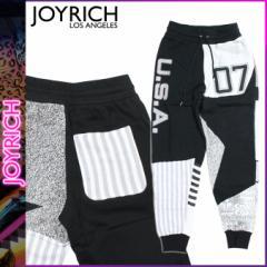ジョイリッチ JOYRICH スウェット パンツ ブラック FUTURE USA 07 PANTS メンズ レディース