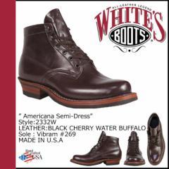 ホワイツ ブーツ WHITES BOOTS 5インチ アメリカーナ セミドレス [ ブラックチェリー ] 5inch AMERICANA SEMIDRESS Eワイズ BL
