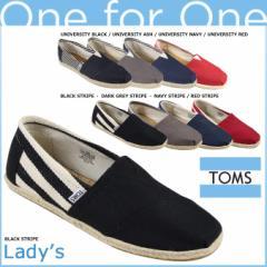 TOMS SHOES トムズ シューズ レディース スリッポン UNIVERSITY WOMENS CLASSICS トムス トムズシューズ