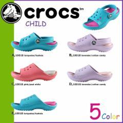 クロックス crocs キッズ サンダル KIDS SCUTES 10018 海外正規品