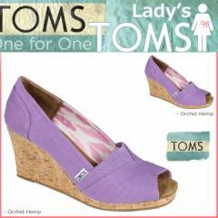 TOMS SHOES トムズ シューズ レディース サンダル WOMENS SUSTAINABLE WEDGES トムス トムズシューズ