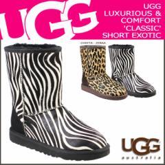 UGG アグ クラシック ショート ムートンブーツ WOMENS CLASSIC SHORT EXOTIC 1002790 シープスキン レディース