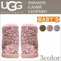 UGG アグ ベビー カシー レオパード ムートンブーツ INFANTS CASSIE LEOPARD 1001781 シープスキン ベビー キッズ