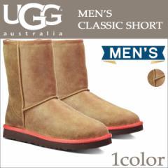 UGG アグ メンズ クラシック ショート ムートンブーツ MENS CLASSIC SHORT 1003950 チェスナット