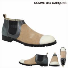 COMME des GARCONS HOMME PLUS コムデギャルソン サイドゴアブーツ シューズ ベージュ メンズ