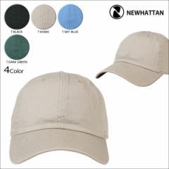 NEWHATTAN ニューハッタン 帽子 キャップ ウォッシュキャップ メンズ レディース