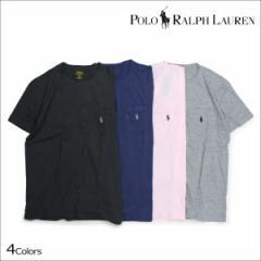ラルフローレン Tシャツ メンズ 半袖 POLO RALPH LAUREN Uネック ポロ ティーシャツ T-SHIRTS TEE 4カラー
