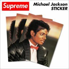 シュプリーム Supreme ステッカー マイケルジャクソン コラボ Michael Jackson STICKER シール マルチカラー