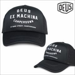 デウスエクスマキナ Deus ex Machina キャップ 帽子 メンズ レディース メッシュキャップ CAMPERDOWN ADDRESS TRUCKER CAP