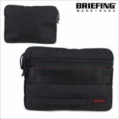 ブリーフィング BRIEFING バッグ クラッチバッグ メンズ A4 CLUCH ブラック BRF488219 [3/11 再入荷]