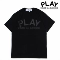 コムデギャルソン PLAY COMME des GARCONS Tシャツ 半袖 メンズ PLAY T-SHIRT ブラック AZ-T188 [3/22 再入荷]