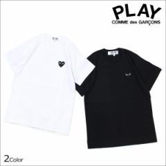 コムデギャルソン PLAY COMME des GARCONS Tシャツ レディース 半袖 BLACK HEART T-SHIRT ブラック ホワイト AZ-T063 [3/22 追加入荷]