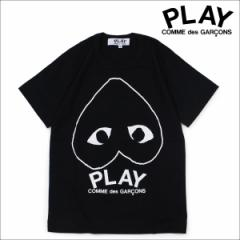 コムデギャルソン PLAY Tシャツ 半袖 COMME des GARCONS レディース PLAY LOGO T-SHIRT AZ-T113 ブラック