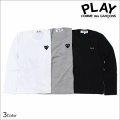 コムデギャルソン PLAY Tシャツ 長袖 COMME des GARCONS レディース BLACK HEART LS T-SHIRT カットソー AZ-T119 AZ-T121