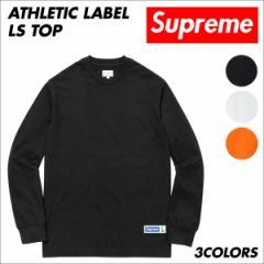 シュプリーム Supreme Tシャツ メンズ 長袖 カットソー Athletic Label LS Top ロンティー ロンT