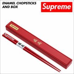 シュプリーム Supreme 箸 ケース セット チョップスティック ボックスロゴ CHOPSTICKS レッド