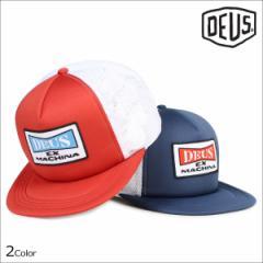 デウスエクスマキナ Deus ex Machina キャップ 帽子 メンズ レディース メッシュキャップ ONE TRUCKER レッド ブルー