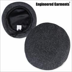 ENGINEERED GARMENTS エンジニアードガーメンツ 帽子 ベレー帽 メンズ レディース BERET F7H0849 グレー