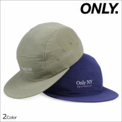 ONLY NY オンリーニューヨーク キャップ 帽子 メンズ レディース GUIDELINE 5-PANEL CAP ストラップバック ナイロン