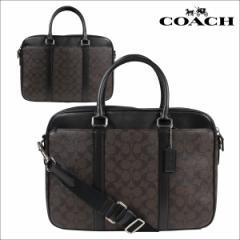 COACH コーチ メンズ バッグ ビジネスバッグ ブリーフケース F54803 マホガニー×ブラウン