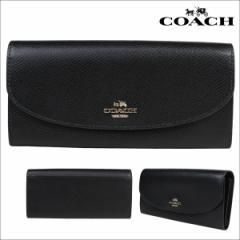 コーチ COACH 財布 長財布 レディース ブラック F54009