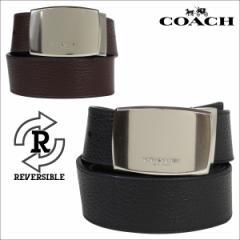 コーチ COACH ベルト レザーベルト メンズ リバーシブル 革 ブラック ブラウン F64842