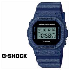 カシオ CASIO G-SHOCK 腕時計 DW-5600DE-2JF ジーショック Gショック G-ショック デニム ブルー メンズ レディース