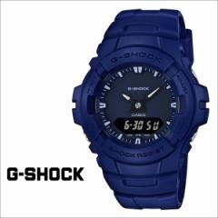 カシオ CASIO 腕時計 G-SHOCK ブルー メンズ 時計 G-100CU-2AJF ジーショック Gショック G-ショック レディース 防水