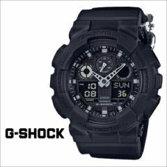 G-SHOCK ブラック Gショック メンズ カシオ 腕時計 CASIO ジーショック GA-100BBN-1AJF