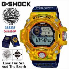 カシオ CASIO G-SHOCK レンジマン 2017 腕時計 GW-9403KJ-9JR ジーショック Gショック G-ショック イエロー コラボ メンズ [4/28 再入荷]