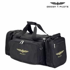 デザイン4パイロッツ DESIGN 4 PILOTS フライトバッグ ボストンバッグ 2WAY ブラック WEEKEND パイロットグッズ メンズ