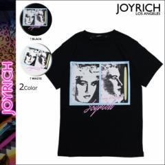 ジョイリッチ JOYRICH Tシャツ 半袖 ティーシャツ カットソー SUPER MODEL PORTRAIT TEE メンズ レディース