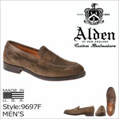 ALDEN オールデン ローファー シューズ PENNY LOAFER Dワイズ 9697F メンズ
