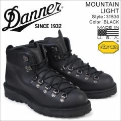 ダナー マウンテンライト ブーツ Danner MOUNTAIN LIGHT 31530 MADE IN USA メンズ ブラック [5/18 追加入荷]