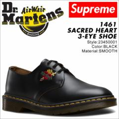 ドクターマーチン 3ホール 1461 メンズ シューズ シュプリーム Dr.Martens Supreme SACRED HEART 3EYE SHOE 23450001