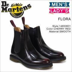 ドクターマーチン サイドゴア メンズ レディース Dr.Martens ブーツ チェルシーブーツ FLORA CHELSEA BOOT R14650601
