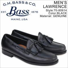 G.H. BASS ローファー ジーエイチバス メンズ ペニー タッセル LAWRENCE KILTIE WEEJUNS 70-80914 靴 ブラック