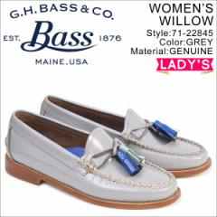 G.H. BASS ローファー ジーエイチバス レディース ペニー タッセル WILLOW PENNY LOAFER 71-22845 靴 グレー