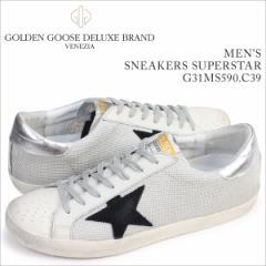 ゴールデングース Golden Goose スニーカー メンズ スーパースター SNEAKERS SUPERSTAR イタリア製 G31MS590 C39 靴