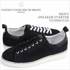 ゴールデングース Golden Goose スニーカー メンズ スターター SNEAKERS SUPERSTAR イタリア製 G31MS631 G8 靴 ブラック