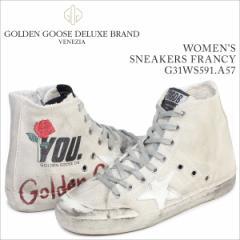 ゴールデングース Golden Goose スニーカー レディース フランシー SNEAKERS FRANCY イタリア製 G31WS591 A57 靴 クリーム