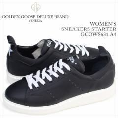 ゴールデングース Golden Goose スニーカー レディース スターター SNEAKERS STARTER イタリア製 GCOWS631 A4 靴 ブラック 5/19 追加入荷